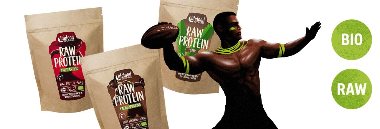 Poudres proteinees