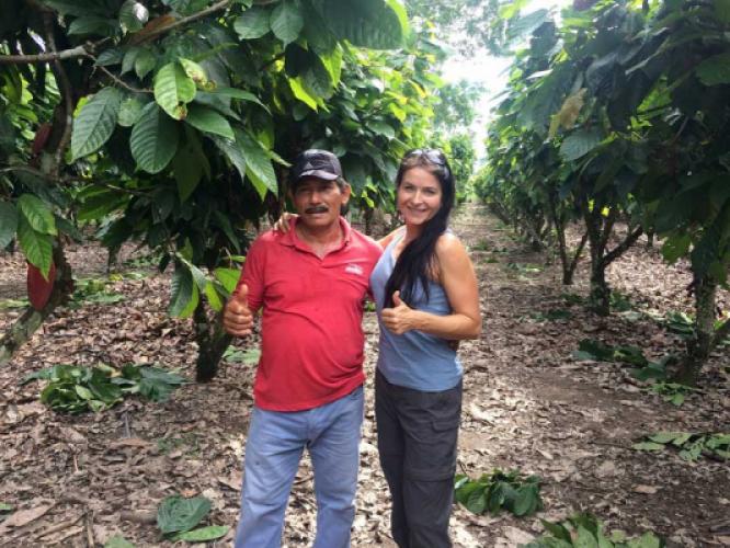 Un compte rendu d'une ferme de cacao pas comme les autres