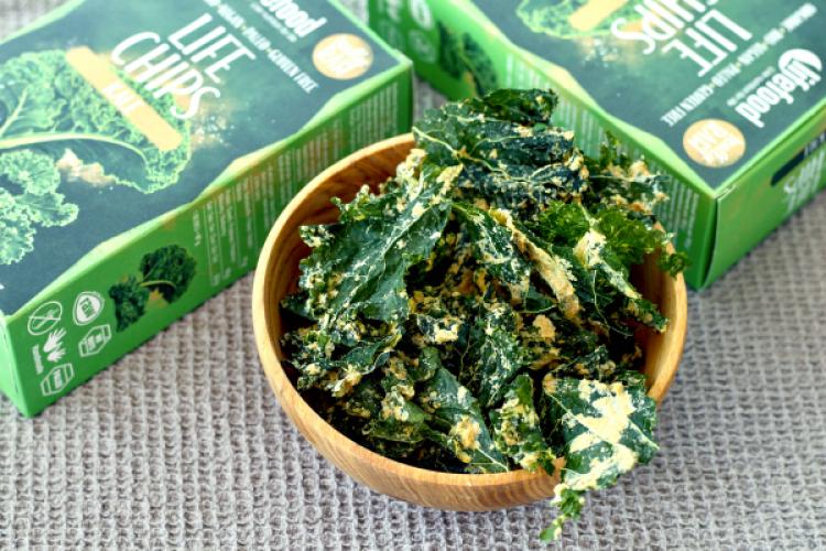 Du champ directement à vous : Chips de kale de saison sont arrivées !
