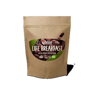 Life Breakfast Bowl Cacao Quinoa Protéine BIO & CRU