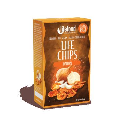 Chips d'oignon BIO&CRU
