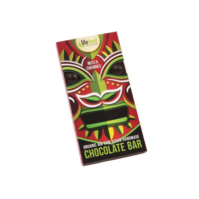 Chocolat cru noix&cerises BIO