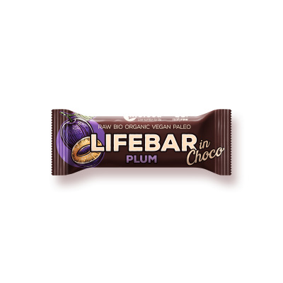 Lifebar InChoco prune BIO & CRU