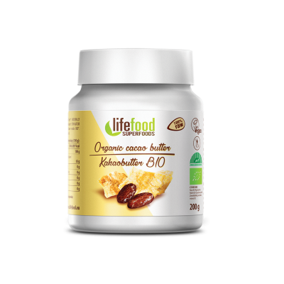 Beurre de cacao BIO&CRU