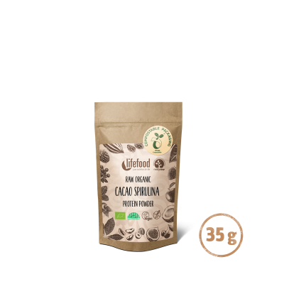 MINI Poudre protéinée cacaospiruline 35 g  BIO&CRU