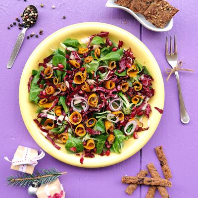 Salade de courge marinée