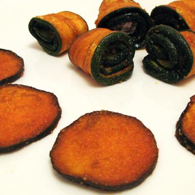 Aubergines et Courgettes marinées