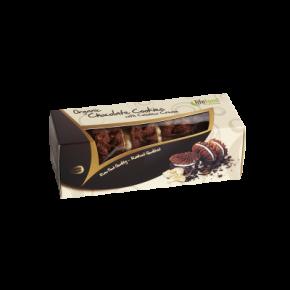 Biscuits crus chocolat fourréscajou BIO