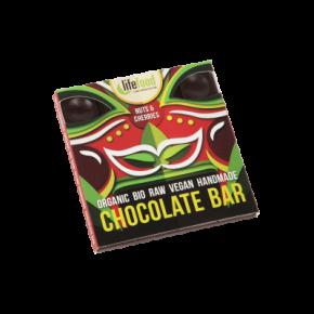 Chocolat cru noix&cerises BIO (35 g)