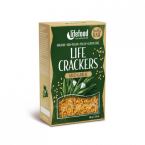 Crackers lin ail des ours BIO & CRU