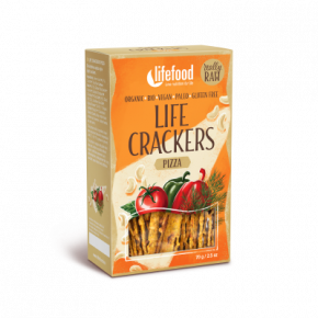 Mini-Crackers pizza BIO & CRU