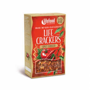 Crackers tomate piment BIO & CRU