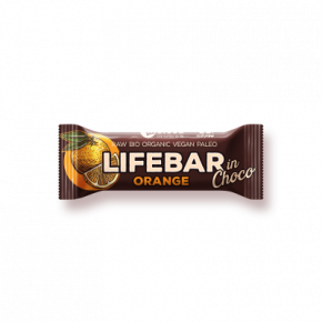 Lifebar InChoco orange BIO & CRU