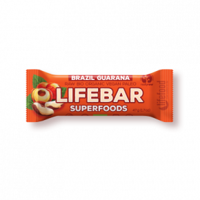 LIFEBAR Superfoods Brésil guarana BIO & CRU