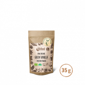 MINI Poudre protéinée vanilleorgeverte 35 g BIO&CRU