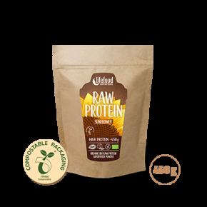 Poudre protéinée de graines de tournesol BIO & CRU 450 g