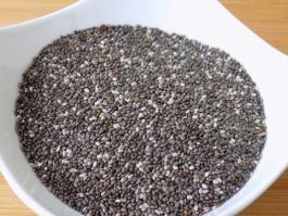 Les graines de chia - un aliment santé par excellence